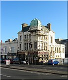TQ2804 : The Alibi, Victoria Terrace, Kingsway, Hove by Simon Carey