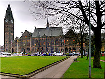 SD8913 : The Town Hall, Rochdale by David Dixon