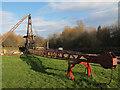 SE3231 : Thwaite Mills: steam crane by Stephen Craven