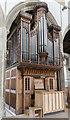 TF6120 : Organ, St Nicholas' Chapel, King's Lynn by Julian P Guffogg