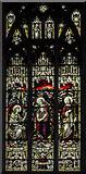 TF6120 : Stained glass window, St Nicholas' Chapel, King's Lynn by Julian P Guffogg