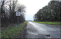 NS3530 : Slip Road from the A78 by Billy McCrorie