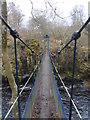 NY9027 : Wynch Bridge by Anthony Foster