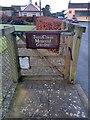 SM9010 : Gate to Tiers Cross Memorial Garden by PAUL FARMER