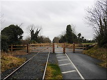 N3447 : Level Crossing on the Athlone to Mullingar Cycleway by JP