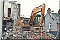 "J3774 : The ""Stormont Inn"" (demolition), Belfast - February 2017(2) by Albert Bridge"