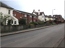 SO6024 : Housing variety, Gloucester Road, Ross-on-Wye by Jaggery