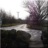 SE2342 : Stile, junction of Otley Old Road and Dean Lane by Rich Tea