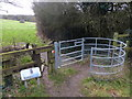 SK5609 : Kissing gate next to the Castle Hill Earthworks by Mat Fascione