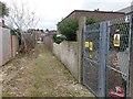 SZ1292 : Pokesdown: substation on footpath J12 by Chris Downer
