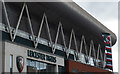 SK5803 : Welford Road Stadium by Mat Fascione