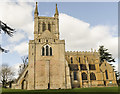 SO9445 : Pershore Abbey from the south by Julian P Guffogg