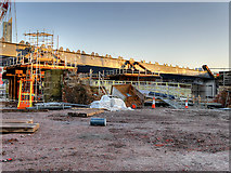 SJ8297 : Ordsall Chord Construction (Dec 2016) by David Dixon