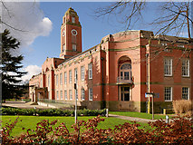 SJ8195 : Stretford Town Hall by David Dixon