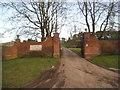 SO7796 : Stratford House Gates by Gordon Griffiths