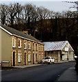 ST2196 : Row of four houses, Bridge Street, Newbridge by Jaggery