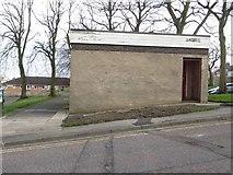 NZ2582 : Former public toilets, Bedlington by Graham Robson