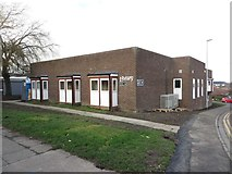 NZ2582 : Bedlington Library by Graham Robson