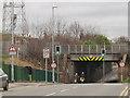 SE3333 : Railway bridge over Osmondthorpe Lane by Stephen Craven