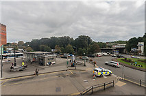 TQ2850 : Redhill Bus and Rail Stations by Ian Capper