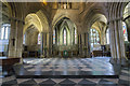 SO9445 : East end of Pershore Abbey by J.Hannan-Briggs