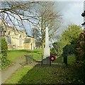 SK6813 : Gaddesby War Memorial by Alan Murray-Rust