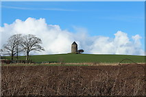 NS3628 : Old Windmill, Monkton by Billy McCrorie