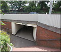 ST5393 : Subway under the A48 in Chepstow by Jaggery