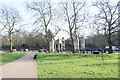 TQ2879 : Commonwealth War Memorial, Constitutional Hill : view from Green Park by Jim Osley