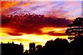 SO7507 : Sunset, Frampton on Severn, Gloucestershire 2010 by Ray Bird