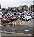 ST1875 : Cardiff Central Railway Station Car Park by Jaggery