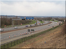 SE3531 : M1 junction 45 by Stephen Craven