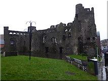 SS6593 : Swansea Castle by Eirian Evans