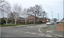 NZ3764 : St Mary's Avenue, on the north side of Borough Road by Christine Johnstone