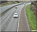 J2965 : The M1, Tullynacross near Lisburn - March 2017(4) by Albert Bridge
