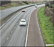 J2965 : The M1, Tullynacross near Lisburn - March 2017(4) by Albert Bridge