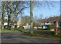 SP3066 : Modern housing, St Mark's Road by Alan Murray-Rust