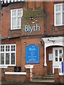 TM5076 : Signage for the 'Blyth' at Southwold by Adrian S Pye