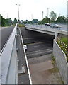 SP3476 : The new Whitley Bridge beside the old, Whitley, south Coventry by Robin Stott