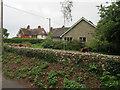 TF7744 : Houses on Broad Lane, Brancaster by Hugh Venables