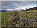 NH5730 : Ruin Wester Erchite by valenta