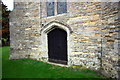 SP6828 : Door in tower of All Saints' Church by Roger Templeman