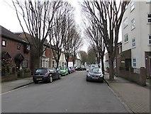 SZ6599 : Frensham Road, Portsmouth by Jaggery