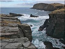 NC3771 : North coast of Faraid Head by Julian Paren