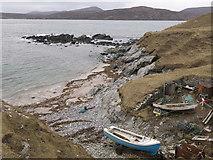 NC3870 : Fishing station, Faraid Head by Julian Paren