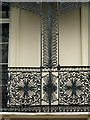 SP3166 : Railings and balconies, Clarendon Square – 3 by Alan Murray-Rust