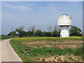 TM1294 : Water tower, Bunwell by Stephen Richards