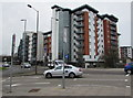 SU6500 : Multistorey flats, Fratton, Portsmouth by Jaggery