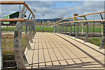 J3674 : The James Ellis Bridge, Belfast - March 2017(1) by Albert Bridge