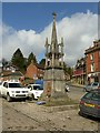 SK1846 : Wright Monument, Market Place, Ashbourne by Alan Murray-Rust